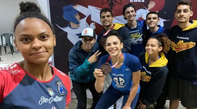 Taekwondistas de São Caetano conquistam Medalhas em Torneio Europeu